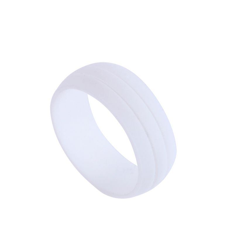 Hypoallergenic Wedding Rings: Mens Best Quality Flexible Hypoallergenic Rubber Silicone