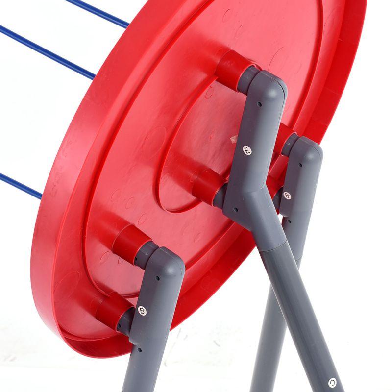how to make a portable dartboard stand