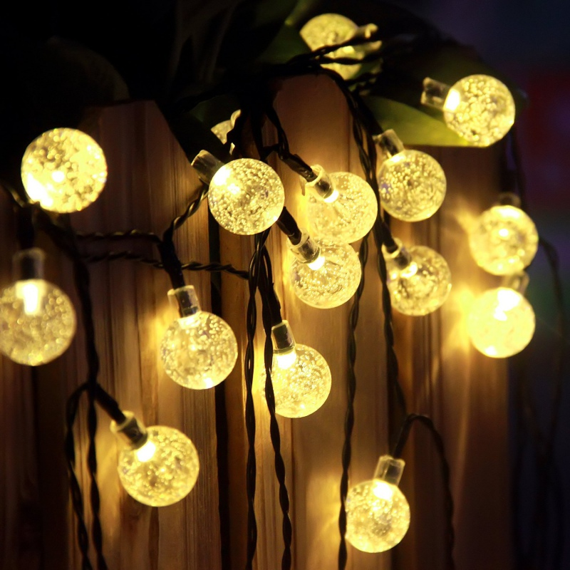 Led Solar String Fairy Light Lamp Hanging Lighting For Patio Yard Halloween Xmas eBay