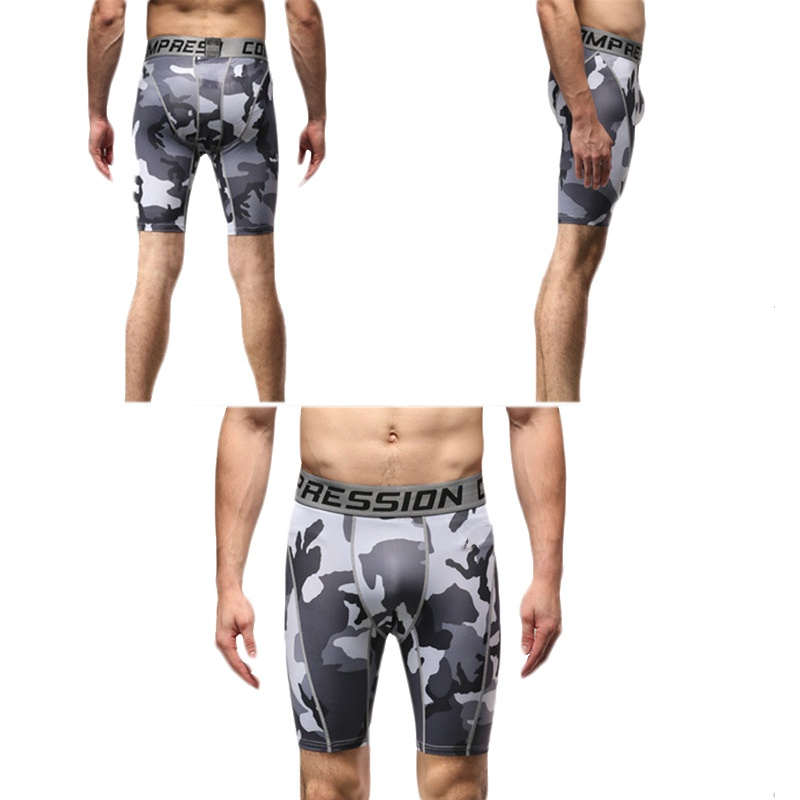 mann camo kompression strumpfhose base schicht hose kurze hose fu ball sportlich ebay. Black Bedroom Furniture Sets. Home Design Ideas