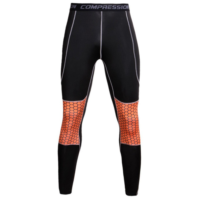 Men-039-s-Compression-Pants-Base-Layer-Skin-Running-YOGA-Workout-Gym-Leggings-Pants