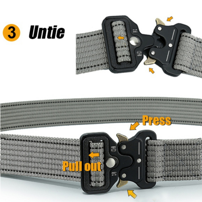 Outdoor-Heavy-Duty-Rigger-Military-Tactical-Belt-with-Quick-Release-Metal-Buckle thumbnail 14