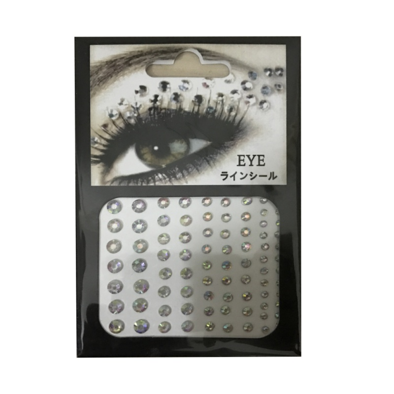 Eye rock rhinestone crystal eye shadow tattoo eyeliner for Crystal eye tattoos