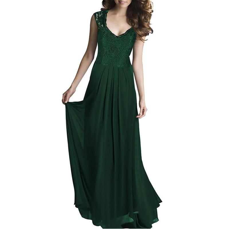 womens lace cocktail plus big size maxi dress ladies