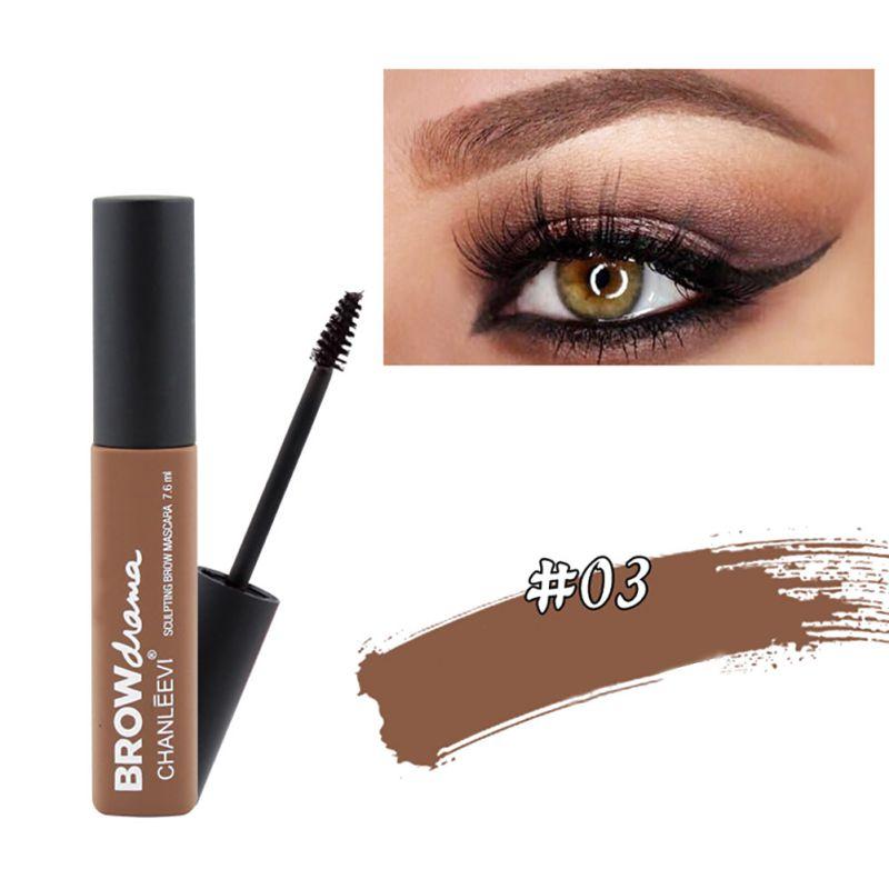 3colors Makeup Long Lasting Eyebrow Tinted Brow Gel Eyebrow Mascara