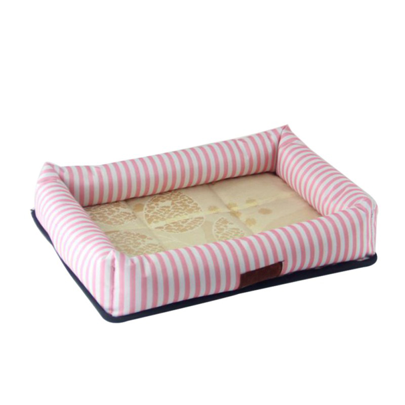 Padded Dog Bed Summer Cool Washable Pet House Mat Soft