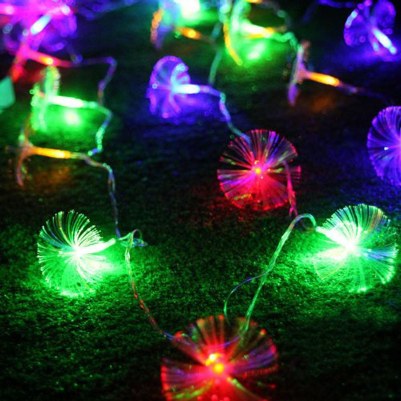 Led String Lights Warm White Outdoor : Holidays Wedding Party Decor Outdoor Fairy LED String Light Lamp Warm White