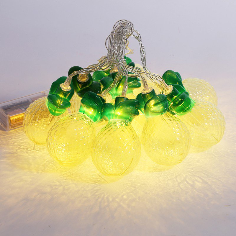 Home Decor 10 Pineapple LED Fairy Lights Nursery Decoration String Light eBay