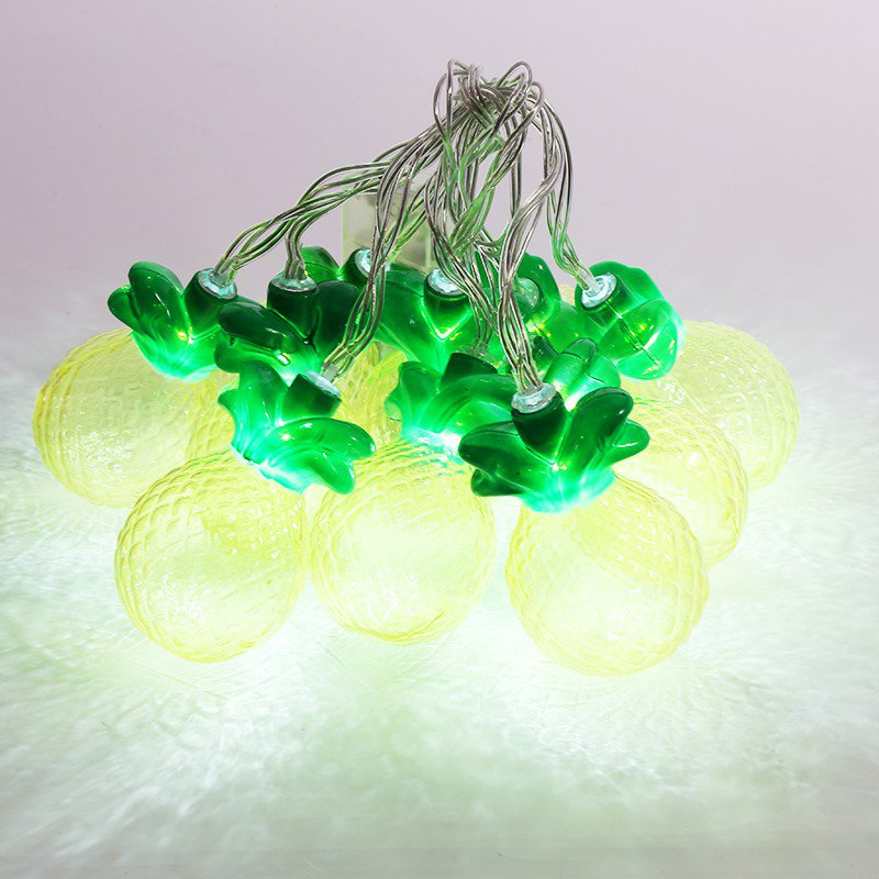 Home Decor 10 Pineapple LED Fairy Lights Nursery Decoration String Light eBay
