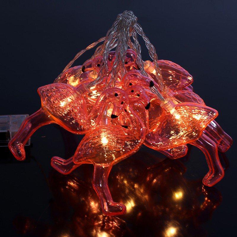 Novelty String Lights Indoor : 10 LED FLAMINGO FAIRY LIGHT NOVELTY LIGHTS INDOOR LED STRING PARTY CHAIN DECO eBay