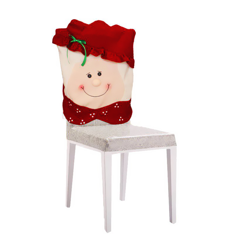 Christmas Xmas Santa Claus Dinner Dining Room Seat Chair