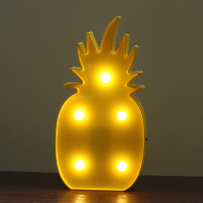 Fashion LED Night Light Table Lamp Wall Battery Operated Light Modern Home Decor