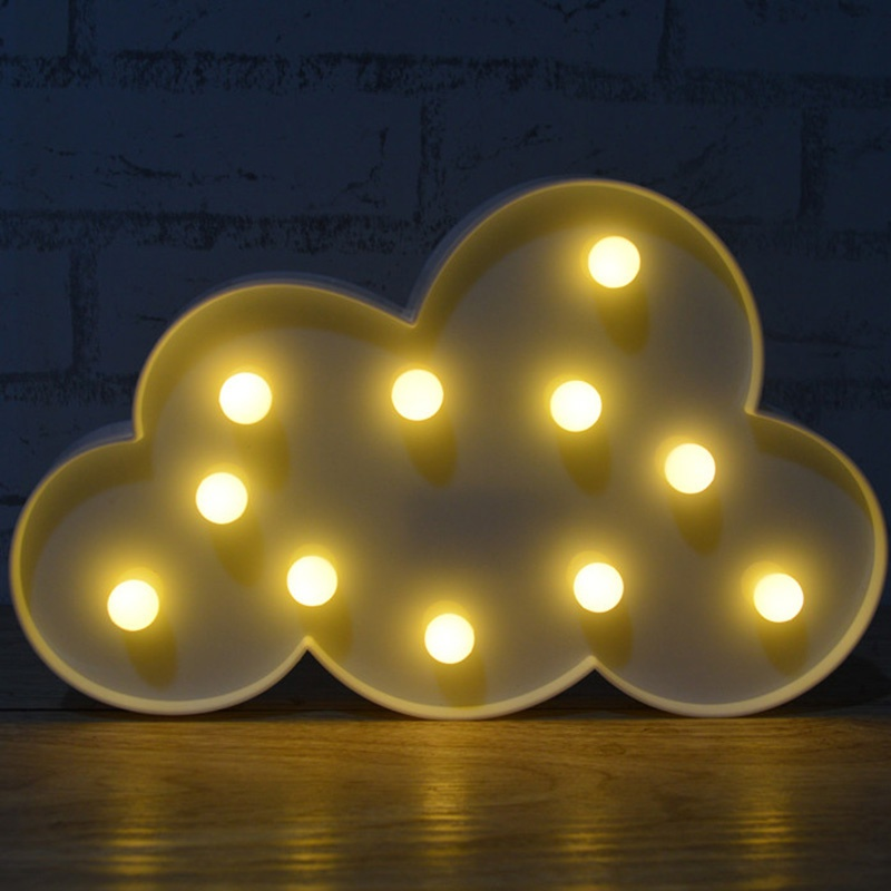 3d Wall Decor Lights : Night lamp battery operated romantic d led trendy party