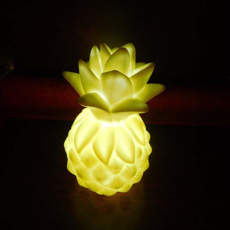 Led Changing Pineapple Mood Light Night Light Colorful Toy