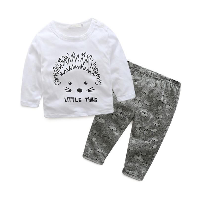Infant-Newborn-Toddler-Baby-Boy-Girl-T-shirt-Tops-Pants-2pcs-Outfits-Clothes-Set