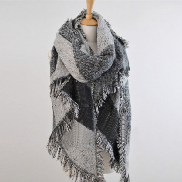 s thick large stole scarves winter warm