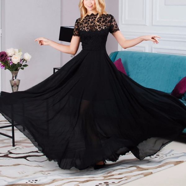 AU-Women-Long-Lace-Evening-Formal-Cocktail-Party-Ball-Gown-Prom-Bridesmaid-Dress