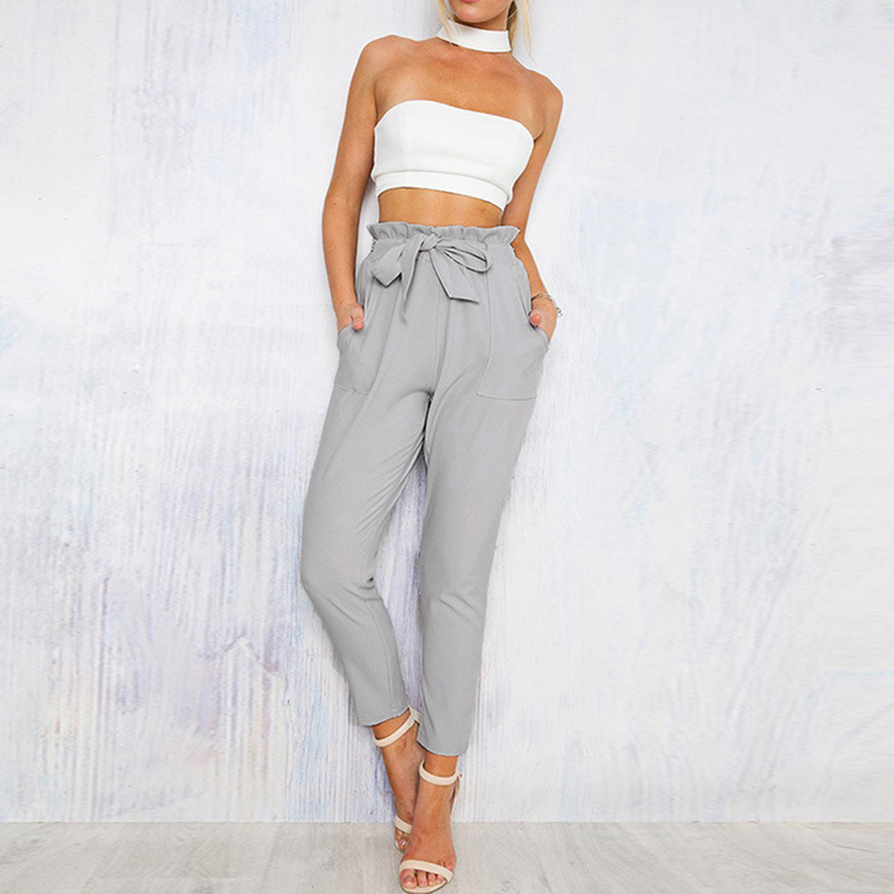 Tailored for you, these straight leg trousers with flat front styling and a flattering comfort waist, create a smooth, flattering line. With a hidden waistband and a flattering stretch, these feminine trousers are perfect for both style and comfort.