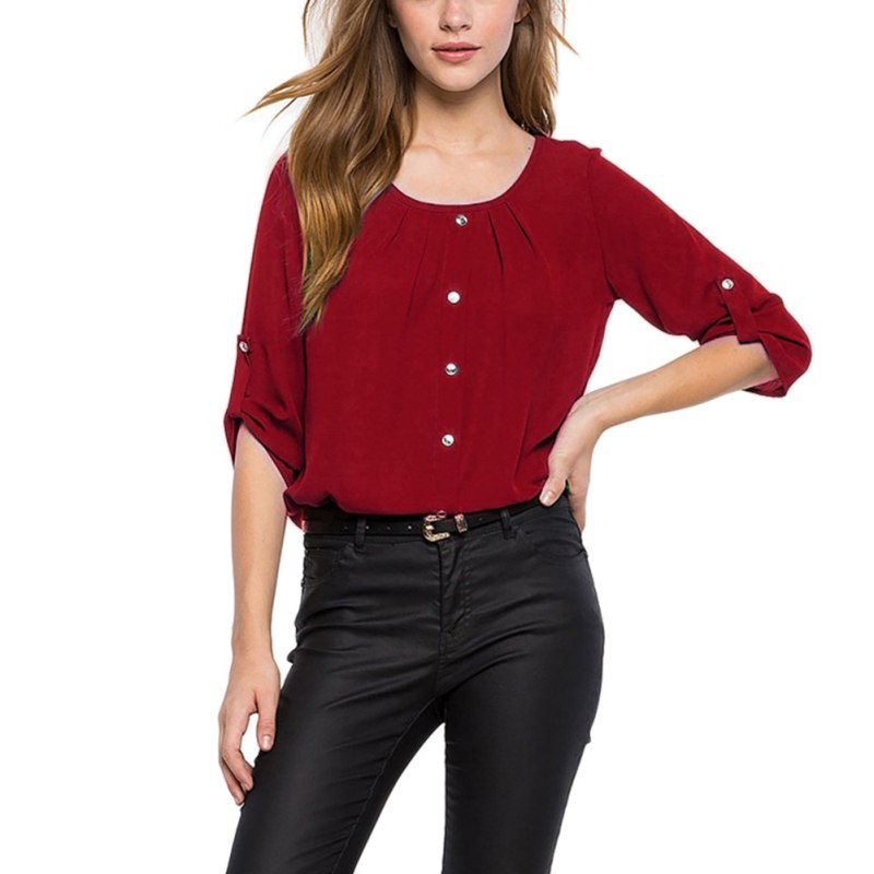 Fashion-Women-Lady-Loose-Long-Sleeve-Chiffon-Casual-Blouse-Shirt-Tops-Blouse-New