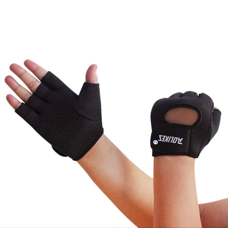 Hompo Ladies Gloves Bodybuilding Fitness Weight Lifting: Men Women Weight Lifting Exercise Training Workout Fitness