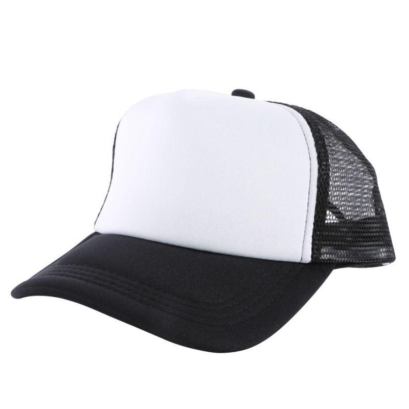 Solid Plain Blank Curved Visor Unisex Hat Baseball Cap ...
