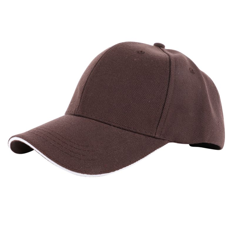 men casual hat baseball gym cap women ball blank plain
