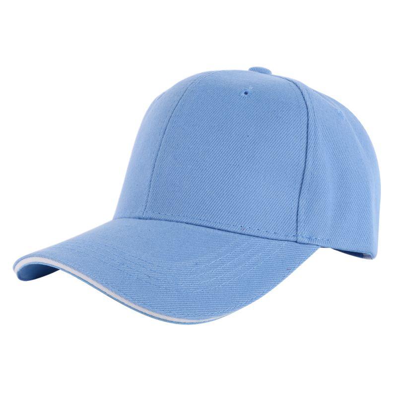 Men Women's Casual Sports Baseball Hat Cap Ball Blank ...