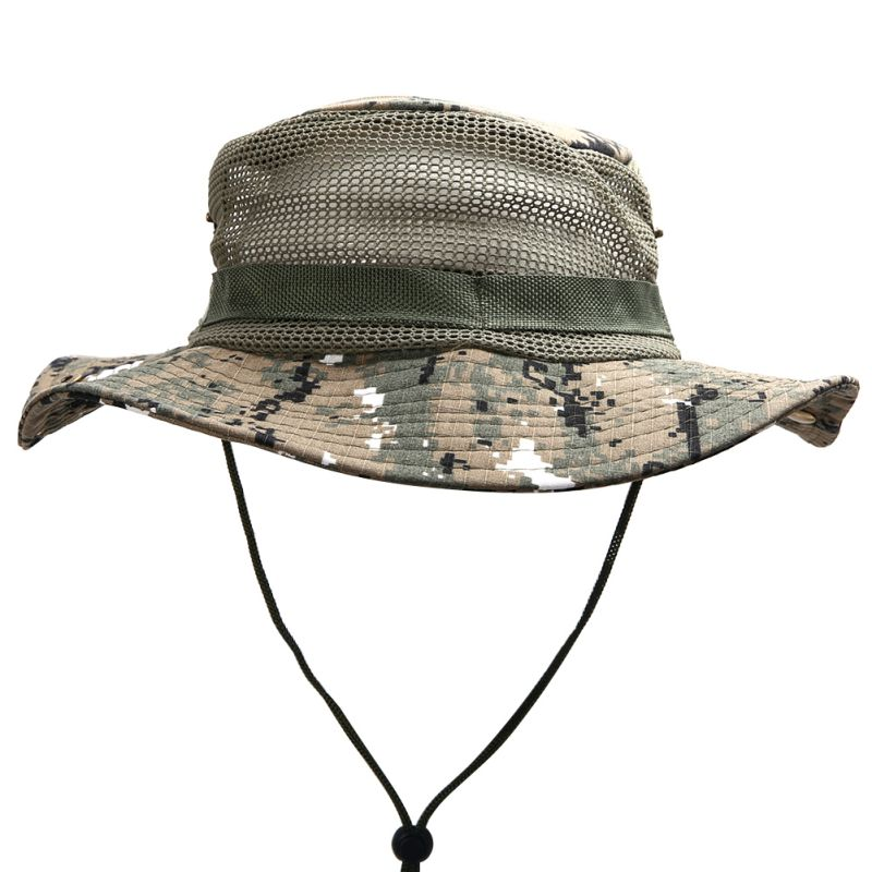 bucket hat boonie hunting fishing outdoor cap wide brim