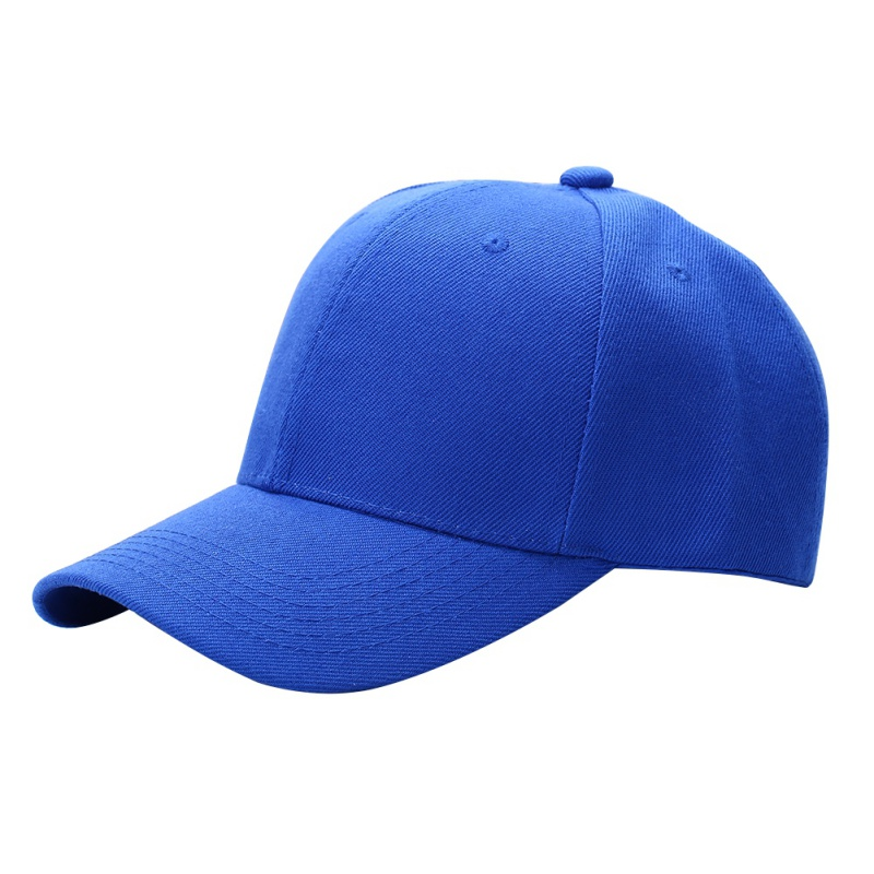 Adjustable-Pure-Color-Blank-Curved-Plain-Baseball-Caps-Visor-Hat-Unisex-Fashion