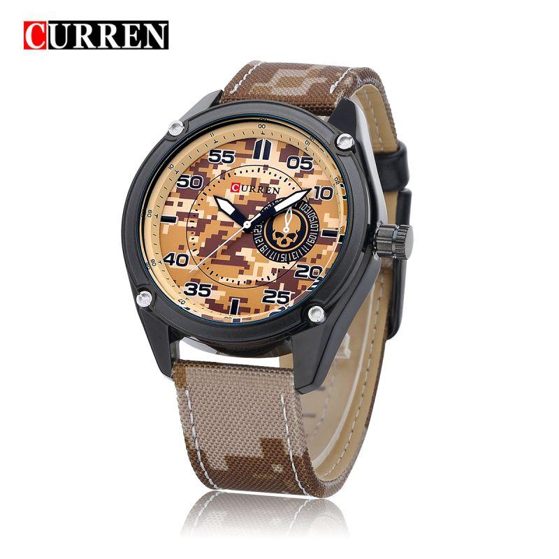 curren sports luxury casual s wrist watches quartz