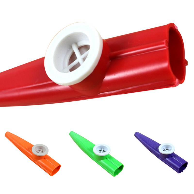 Plastic Kazoo Classic Musical Toy Instrument Oral Motor