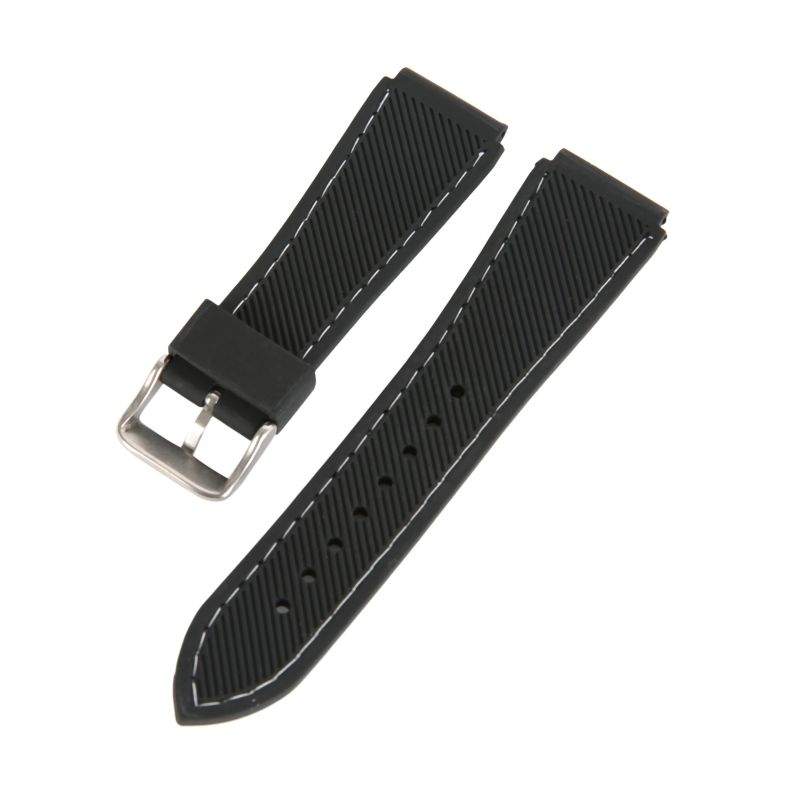 18mm-20mm-22mm-24mm-Waterproof-Mens-Silicone-Rubber-Dive-Watch-Band-Belt-Strap