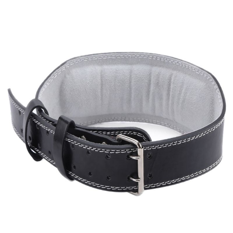 Fitness Lifting Belt: Weight Lifting Belt Gym Back Support Fitness PU Leather