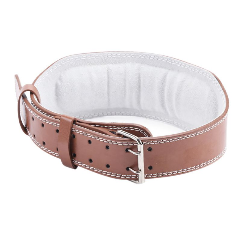 Belt Lifts: Weight Lifting Belt Gym Back Support Fitness PU Leather