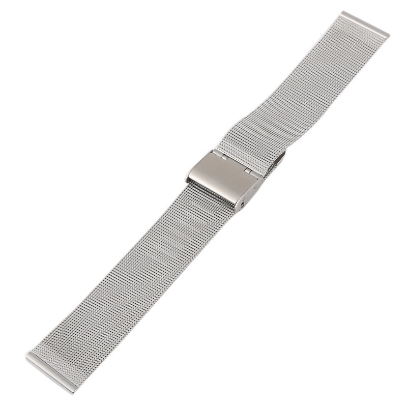 USA-Milanese-Watch-Mesh-Band-Strap-Double-Clasp-Bracelet-12-14-16-18-20-22-24mm thumbnail 14