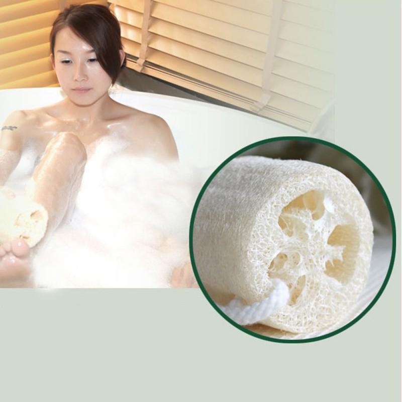 Natural-Loofah-Luffa-Loofa-Sponge-Bath-Shower-Spa-and-Body-Scrubber-Beauty-US thumbnail 11