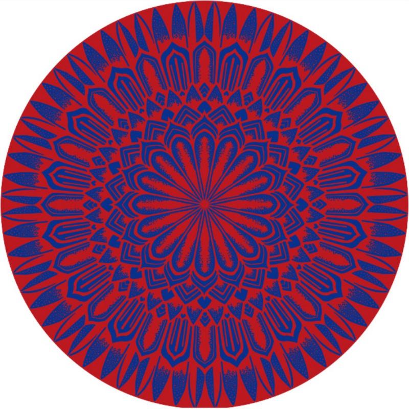 Neu Indisches Rund Mandala Roundie Strandtuch Tapisserie Hippie Yoga ...