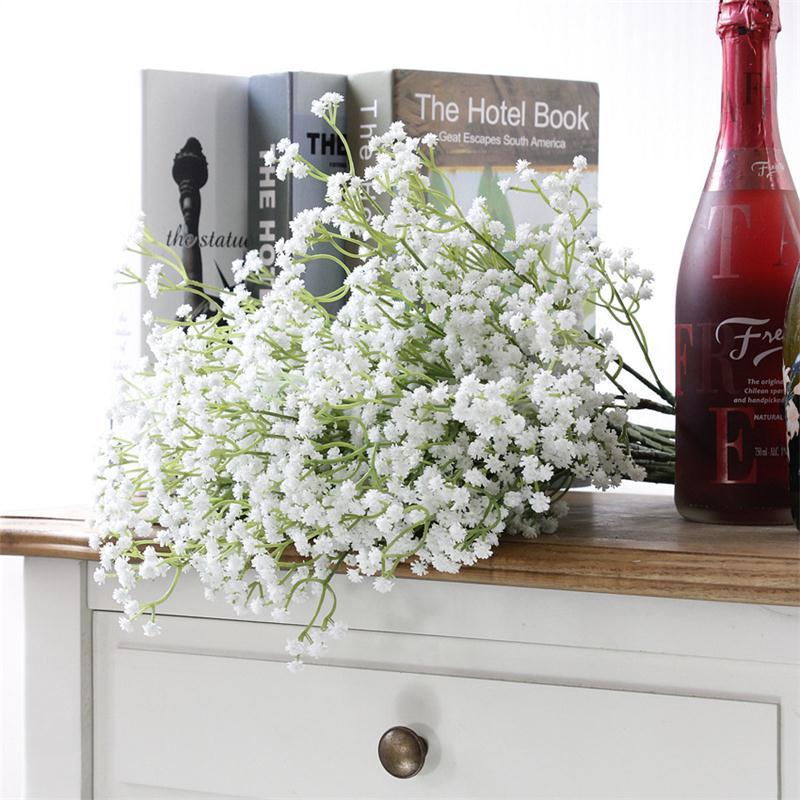 Artificial-Fake-Babys-Breath-Gypsophila-Silk-Flowers-Bouquet-Home-Wedding-Supply thumbnail 4