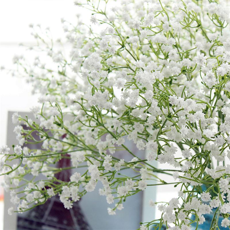 Artificial gypsophila babys breath fake silk flowers bouquet home artificial gypsophila baby 039 s breath fake silk junglespirit Images