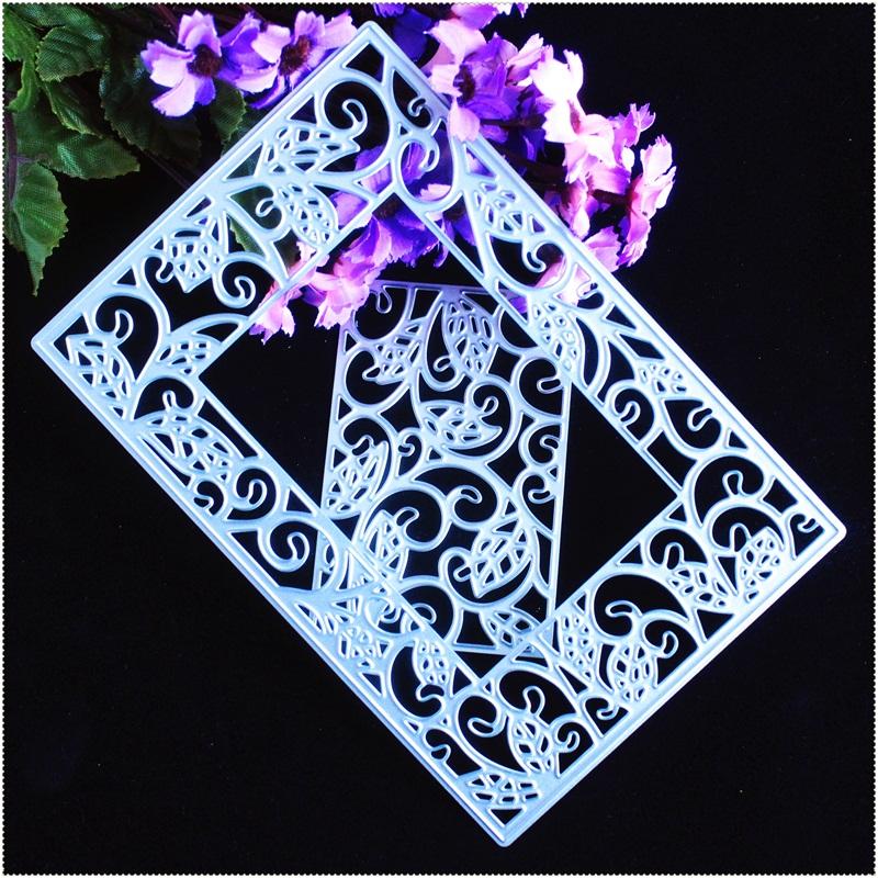 Metal diy cutting dies stencil diy scrapbooking embossing for Dies for paper crafting