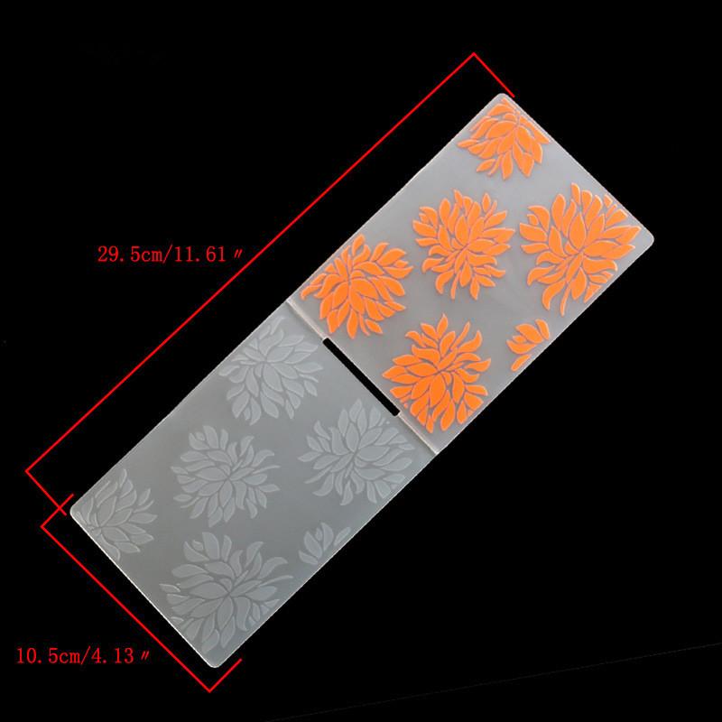 New Plastic Embossing Folder Template DIY Scrapbook Paper ...