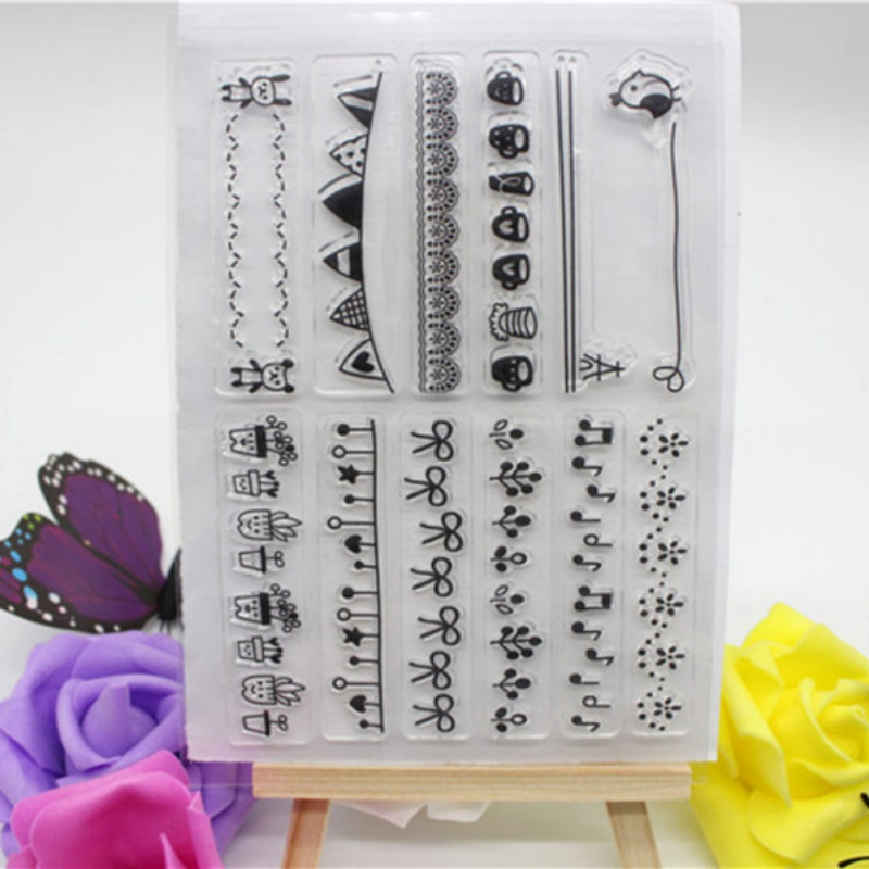 how to make silicone rubber stamps