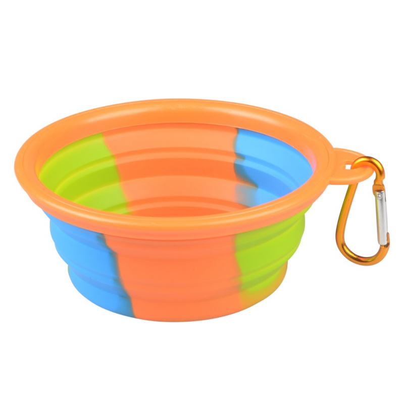 Portable Dog Water Bowls Bowl For Large Breed Dogs Premium: Portable Collapsible Silicone Pet Cat Dog Food Water