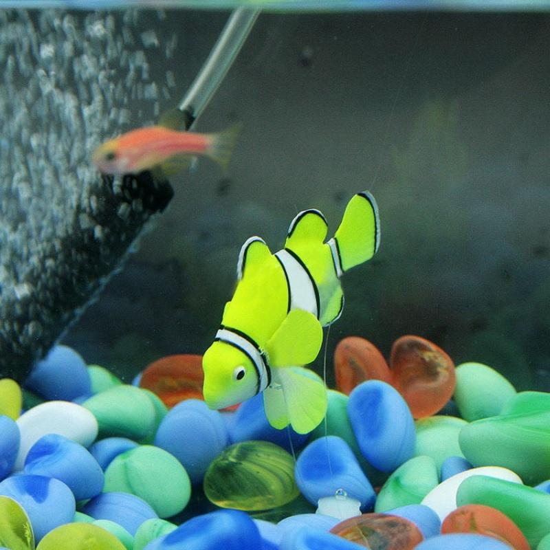 Artificial Plastic Fish Toy Fish Tank Aquarium Ornament