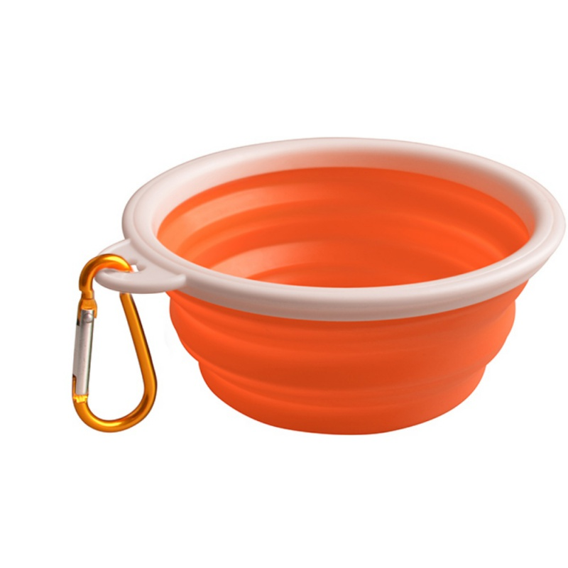 Portable Dog Water Bowls Bowl For Large Breed Dogs Premium: Portable Pet Dog Silicone Collapsible Travel Feeding Bowl