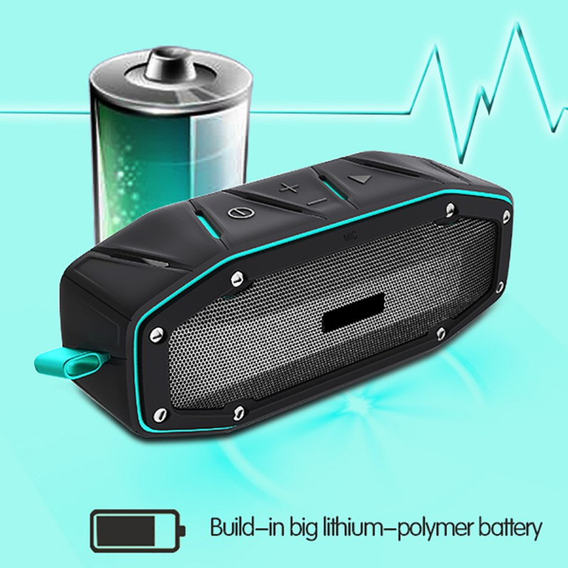 APIE Portable Wireless Outdoor Bluetooth Speaker IPX6 Waterp