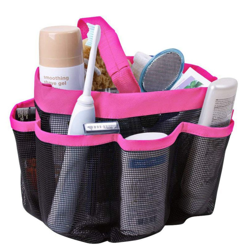 Hanging Toiletry Storage Pouch Organizer Caddy Cosmetics Shower Bag ...