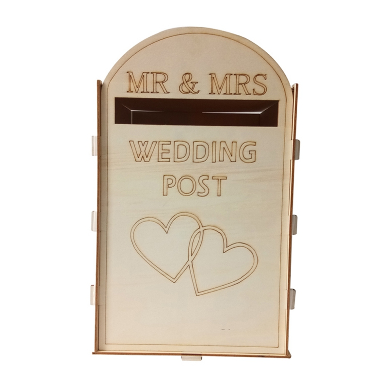 DIY-Wedding-Post-Box-Royal-Mail-Styled-Flat-Pack-Unpainted-MDF-for-Cards-etc thumbnail 11
