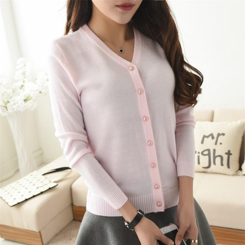 Women-Knitted-Long-Sleeve-Cardigan-Lady-Sweater-Coat-Jacket-Outwear-Knitwear