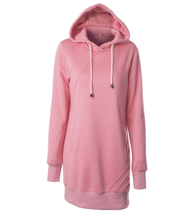 Hooded Sweater Dresses Womens